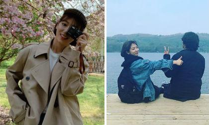 Park Shin Hye khoe loạt hình tới Anh đẹp lung linh nhưng người đàn ông kế bên mới gây nhiều chú ý