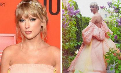 """Quay về với hình ảnh """"công chúa"""" năm nào, Taylor Swift đẹp kiêu sa trên thảm đỏ Time 100"""