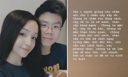 Em trai Phan Thành - Phan Hoàng triết lí về cách 'yêu một người' sau nghi án chia tay Khánh Hà