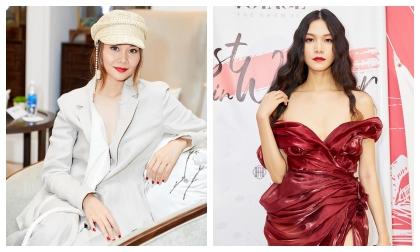 Siêu mẫu Thanh Hằng, Hoa hậu Thùy Dung đẹp 'bất phân thắng bại' tại sự kiện thời trang