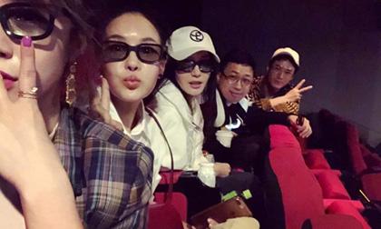 Dàn cast 'Diên Hi công lược' chơi lớn, tụ tập đi xem 'Avengers: Endgame'