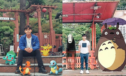Lạc vào 'thế giới truyện tranh' khi xem loạt ảnh check-in tại Nhật Bản của Jun Phạm