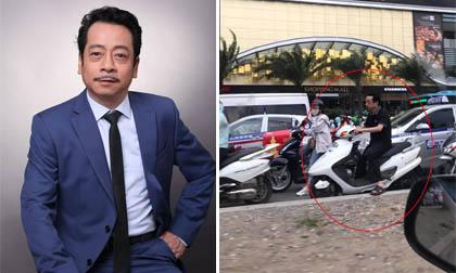 NSND Hoàng Dũng lên tiếng về bức ảnh không đội mũ bảo hiểm khi đi xe máy
