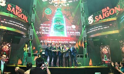 Sabeco công bố chương trình khuyến mãi 'Bật bia Saigon special lên lộc tiền tỷ'