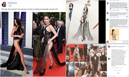 'Cứ hở cho đã' tại Cannes, Ngọc Trinh nhận 'mưa chê bai' không tiếc lời từ cộng đồng mạng