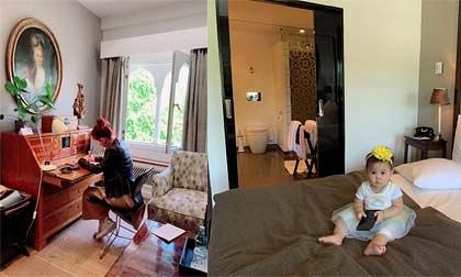 Thanh Thảo xót tiền khi chồng đặt phòng trong khách sạn được Nữ hoàng Đan Mạch hay sử dụng tiếp khách
