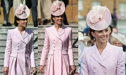 Em dâu Meghan nghỉ đẻ, Công nương Kate trở thành nhân vật sáng nhất tại bữa tiệc Hoàng gia với set đồ hàng trăm triệu