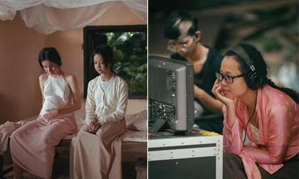 Hậu trường 'Người vợ ba' và loạt ảnh đẹp đến từng 'cen-ti-mét' trên phim