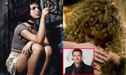 Trước 'Vợ ba', Hollywood còn có cô bé 12 tuổi gây tranh cãi, Brad Pitt bị chỉ trích vì hôn bạn diễn kém 18 tuổi
