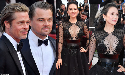 Thảm đỏ Cannes ngày thứ 8: Hai tài tử đình đám Hollywood tái ngộ, Chương Tử Di tiếp tục chiếm sóng