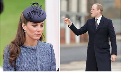 Hiền lành như Công nương Kate cũng từng 'nóng máu' khi bị Hoàng tử William 'đối xử như một người hầu'