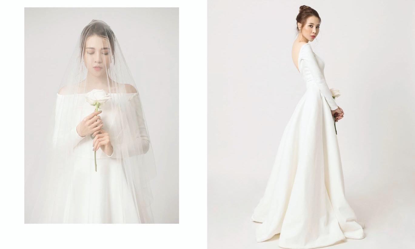 Để công chúng đợi mòn mỏi, cuối cùng Đàm Thu Trang cũng khoe ảnh cưới xinh như công chúa