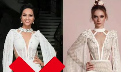'Né' thị phi giỏi như Hoa hậu H'Hen Niê cũng vẫn bị lôi vào lùm xùm diện váy nhái
