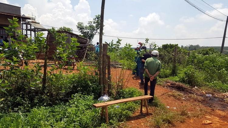 Hiện trường vụ 3 bà cháu bị sát hại, phi tang xác sau vườn ở Lâm Đồng