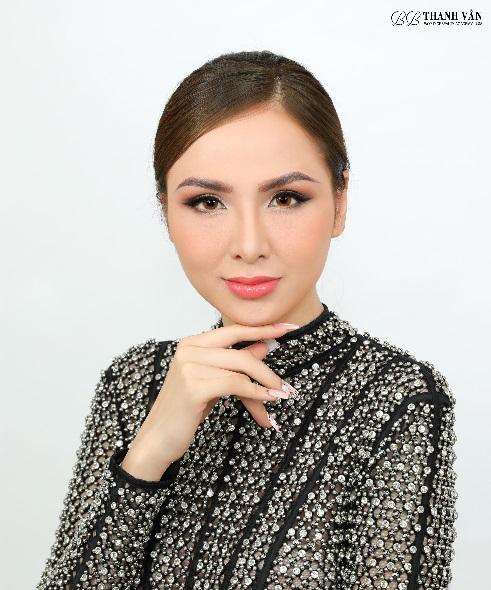 nail Ombre, BB Thanh Vân, Nail đẹp