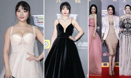 """Thảm đỏ Weibo: """"Kim Kardashian Trung Quốc"""" và """"Siêu vòng 1 xứ Trung"""" lấn áp dàn sao nổi tiếng"""