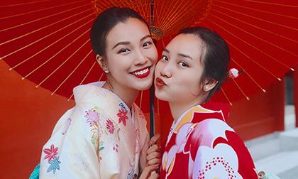 Hoàng Oanh khoe em gái ruột xinh xắn và chia sẻ 'bí quyết' du lịch Nhật Bản