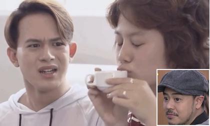 Khán giả 'la ó' hành động lố của Dương khi hôn cốc cà phê uống dở của bố Bảo
