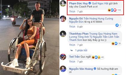 Đàn em công khai bạn gái nóng bỏng, Đức Huy rủ Quế Ngọc Hải dọa mách thầy Park