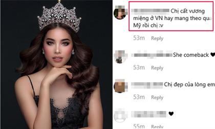 Hoa hậu Phạm Hương đăng ảnh huy hoàng một thời, fan lại thắc mắc chiếc vương miện giờ ở đâu