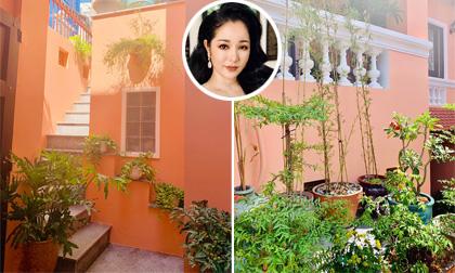 Những góc ngập tràn sắc xanh trong khu vườn của Thúy Nga ở Sài Gòn