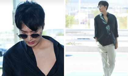 Vừa bước sang tuổi mới trai đẹp Lee Min Ho đã làm dân tình lóa mắt với màn hở bạo ở chốn công cộng
