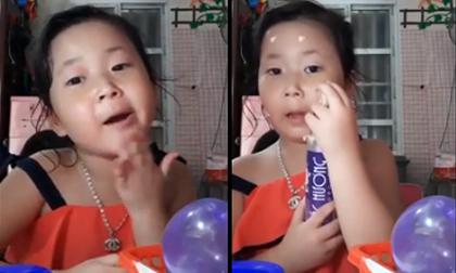 Màn livestream giới thiệu mỹ phẩm đầy chuyên nghiệp của bé gái khiến dân mạng cười nghiêng ngả