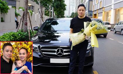 Vợ chồng Đinh Ngọc Diệp - Victor Vũ tậu xế hộp sang trọng hơn 2 tỷ đồng
