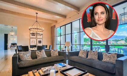 Bên trong căn nhà hạng sang có giá hơn 58 tỷ đồng nơi Angelina Jolie ở khi quay phim mới