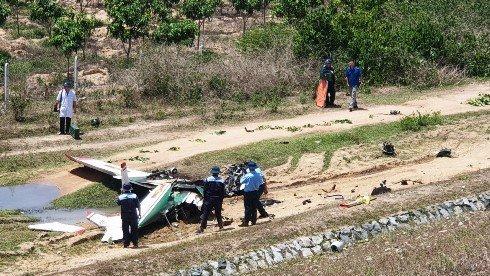 Bộ Quốc phòng thông tin nguyên nhân khiến máy bay quân sự rơi ở Khánh Hòa