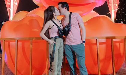 Dương Khắc Linh và vợ mới cưới tiếp tục tận hưởng kỳ nghỉ ngọt ngào tại Thái Lan