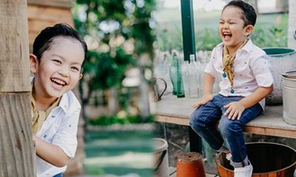 Con trai Khánh Thi - Phan Hiển đốn tim fan trong bộ ảnh mừng sinh nhật 4 tuổi đáng yêu