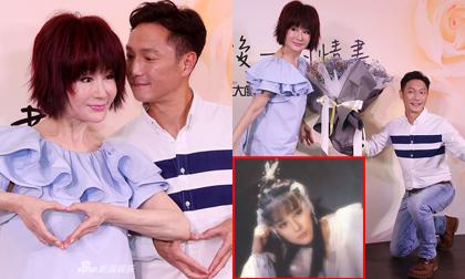 70 tuổi, 'Tiểu Long Nữ' Phan Nghinh Tử vẫn đẹp thơm xao xuyến khiến trai trẻ phải quay sang ngửi tóc, quỳ gối tặng hoa