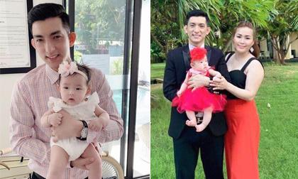Vợ ba của chồng cũ Phi Thanh Vân lần đầu đưa con về nước thăm chồng