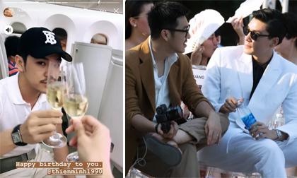 Người mẫu Quang Đại cùng 'bạn trai tin đồn' đi du lịch ở Nhật Bản