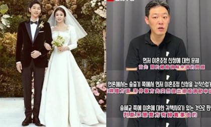 Song Hye Kyo mới là người đệ đơn ly hôn trước, nhưng đã bị Song Joong Ki 'cướp' quyền thông báo
