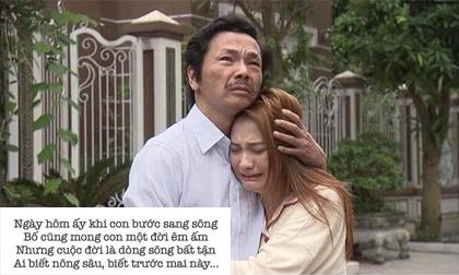 Cảnh bố Sơn sang đón Thư về trong tập 70 được khán giả xem 'Về nhà đi con' phổ thành thơ