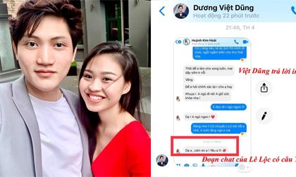 Lộ tin nhắn diễn viên Lê Lộc nói yêu Việt Dũng 'Người ấy là ai'