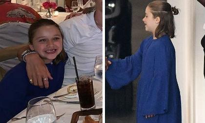 Harper ra dáng là con gái của nhà thiết kế nổi tiếng khi diện đầm maxi cực thời trang