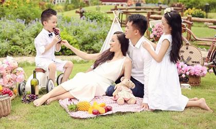 Diễn viên Minh Hương 'Nhật ký Vàng Anh' đăng ảnh hạnh phúc kỷ niệm 9 năm ngày cưới