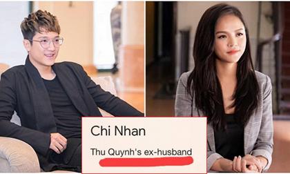 Cao tay như dân mạng, quyết 'dìm đẹp' Chí Nhân khi tìm tên anh và Thu Quỳnh trên google và cái kết 'đắng lòng'
