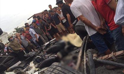 Ảnh: Hiện trường đầy ám ảnh vụ tai nạn khiến ít nhất 6 người tử vong tại Hải Dương