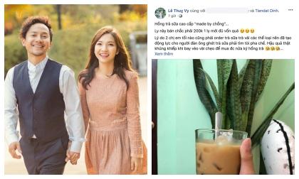 Sau loạt nghi vấn rạn nứt, bà xã Tiến Đạt khéo khoe được chồng chăm sóc
