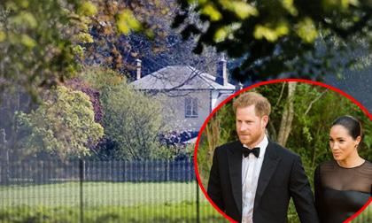 Nhà của vợ chồng Hoàng tử Harry như pháo đài, bảo vệ nghiêm ngặt gây phản ứng trái chiều