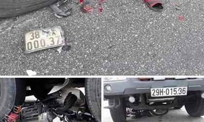 Vượt đèn đỏ, cụ bà 75 tuổi ở Hà Tĩnh bị xe tải tông nhập viện