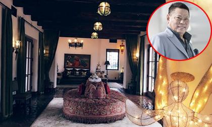 'Đột nhập' biệt thự xa hoa 33 triệu đô ở Mỹ của tỷ phú Hoàng Kiều