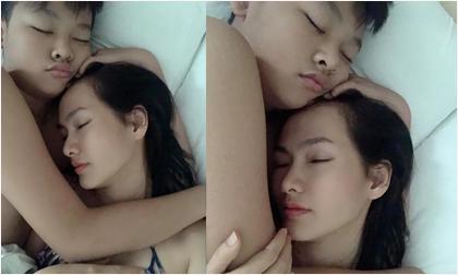 Siêu mẫu Anh Thư đăng loạt ảnh hạnh phúc khi được người đàn ông này ôm ngủ