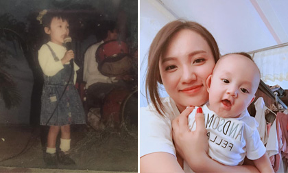 Quán quân Việt Nam Idol 2014 Nhật Thuỷ khoe ảnh lúc nhỏ xinh xắn, bạn bè nhận xét giống con trai Kiệt Kul