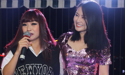Ngọc Lan khóc như mưa vì được Phương Thanh và Ngọc Linh bất ngờ tổ chức sinh nhật