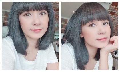 'Người đẹp Tây Đô' Việt Trinh đổi kiểu tóc búp bê khiến ai cũng xuýt xoa